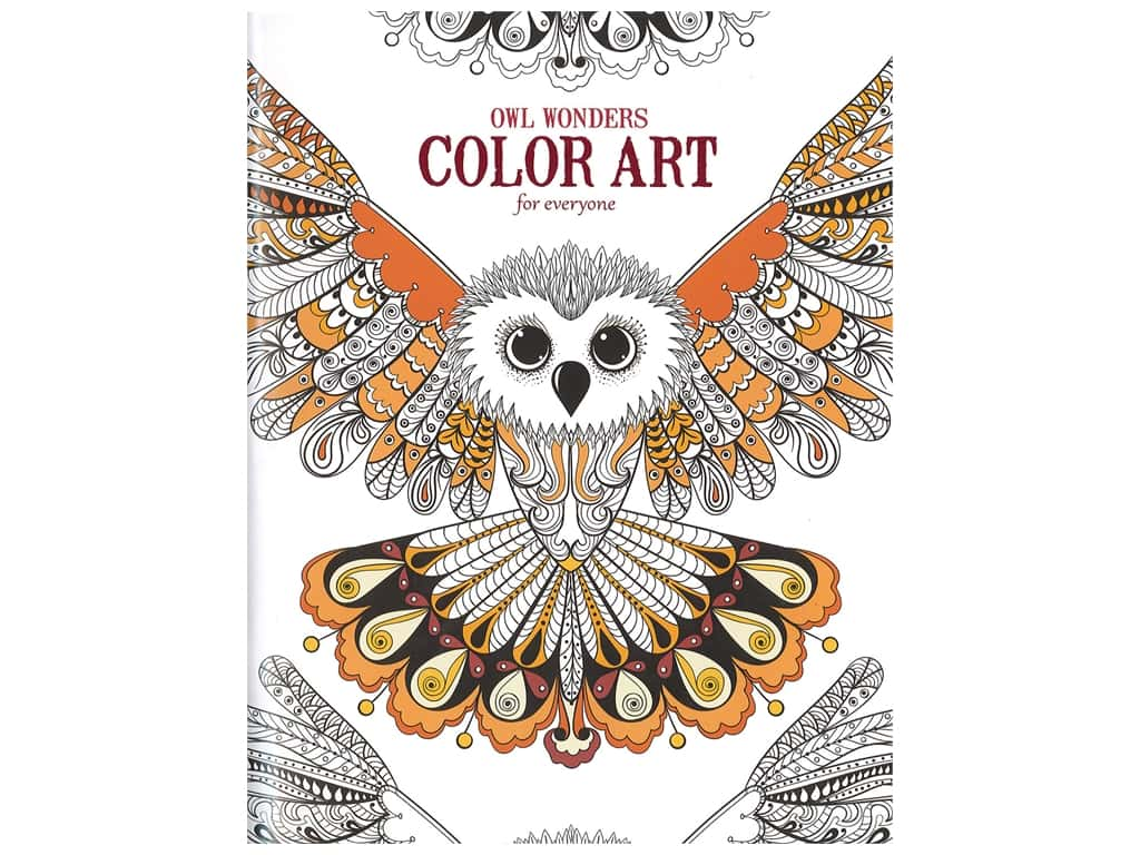 Owl Wonders: Color Art for Everyone Coloring Book