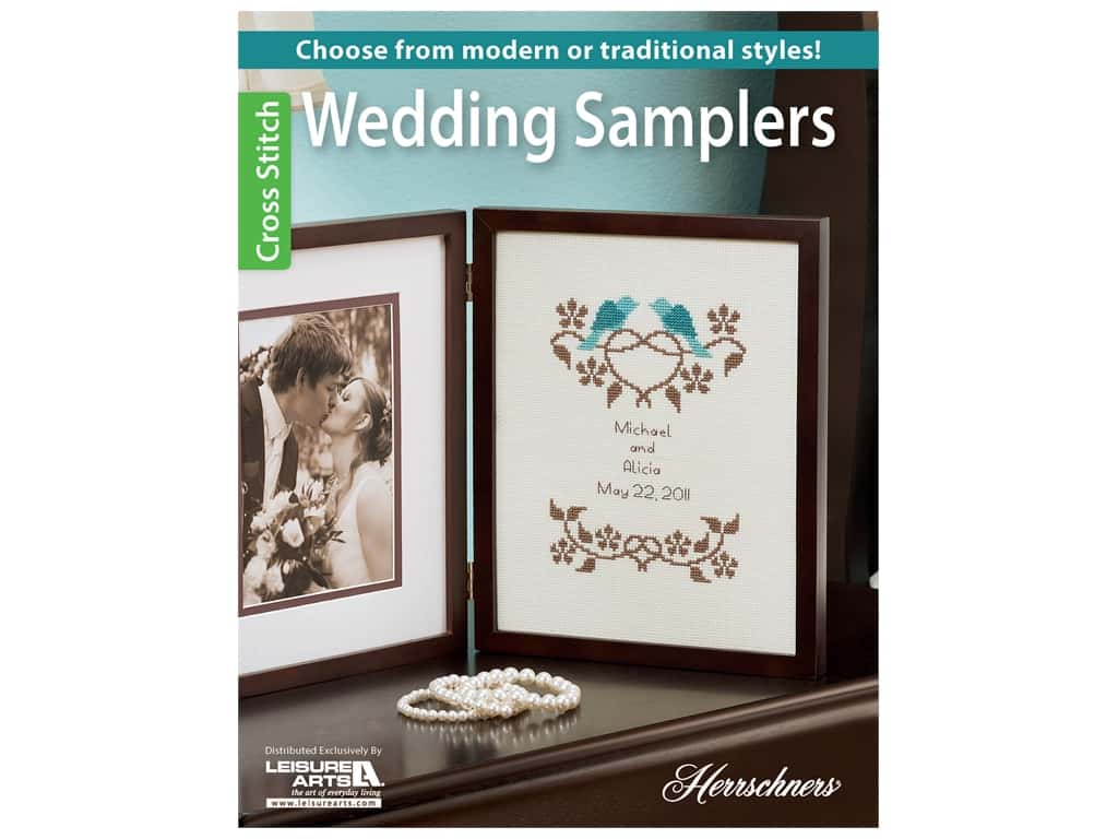 Leisure Arts Wedding Samplers Book