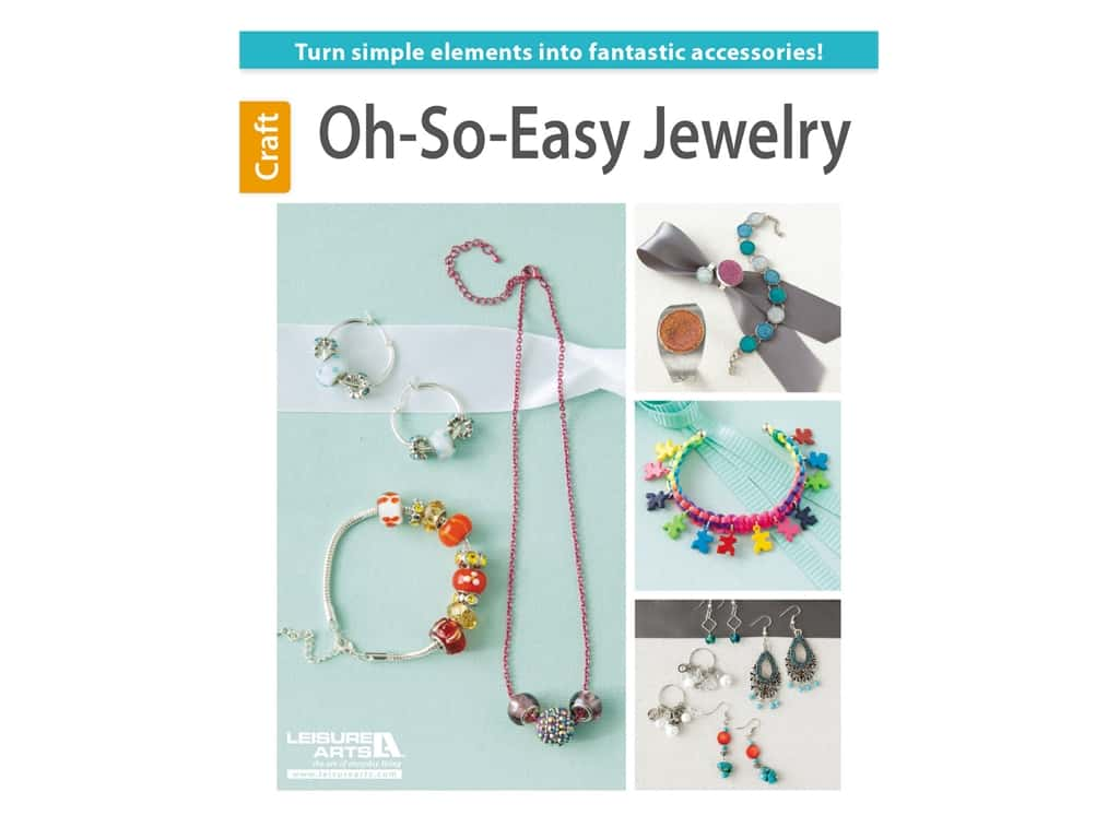Leisure Arts Oh-So-Easy Jewelry Book