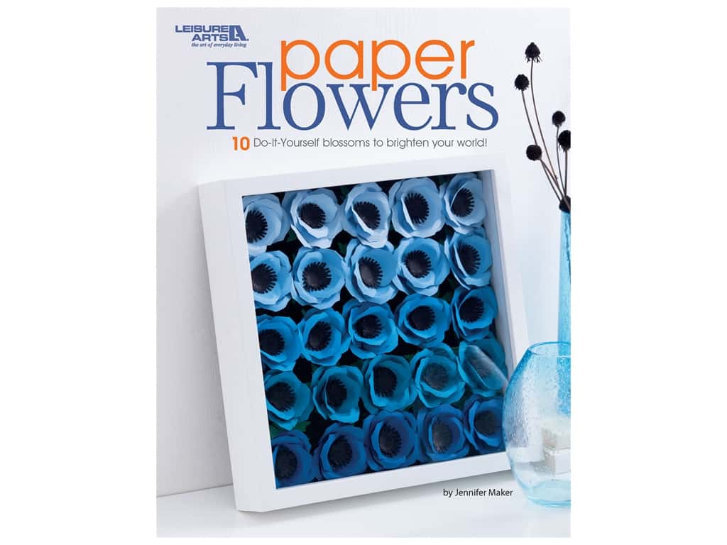 Leisure Arts Paper Flowers Book