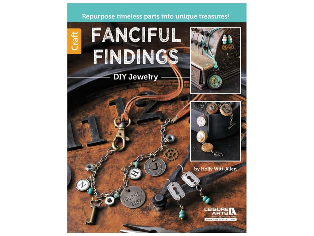 Leisure Arts Fanciful Findings Book