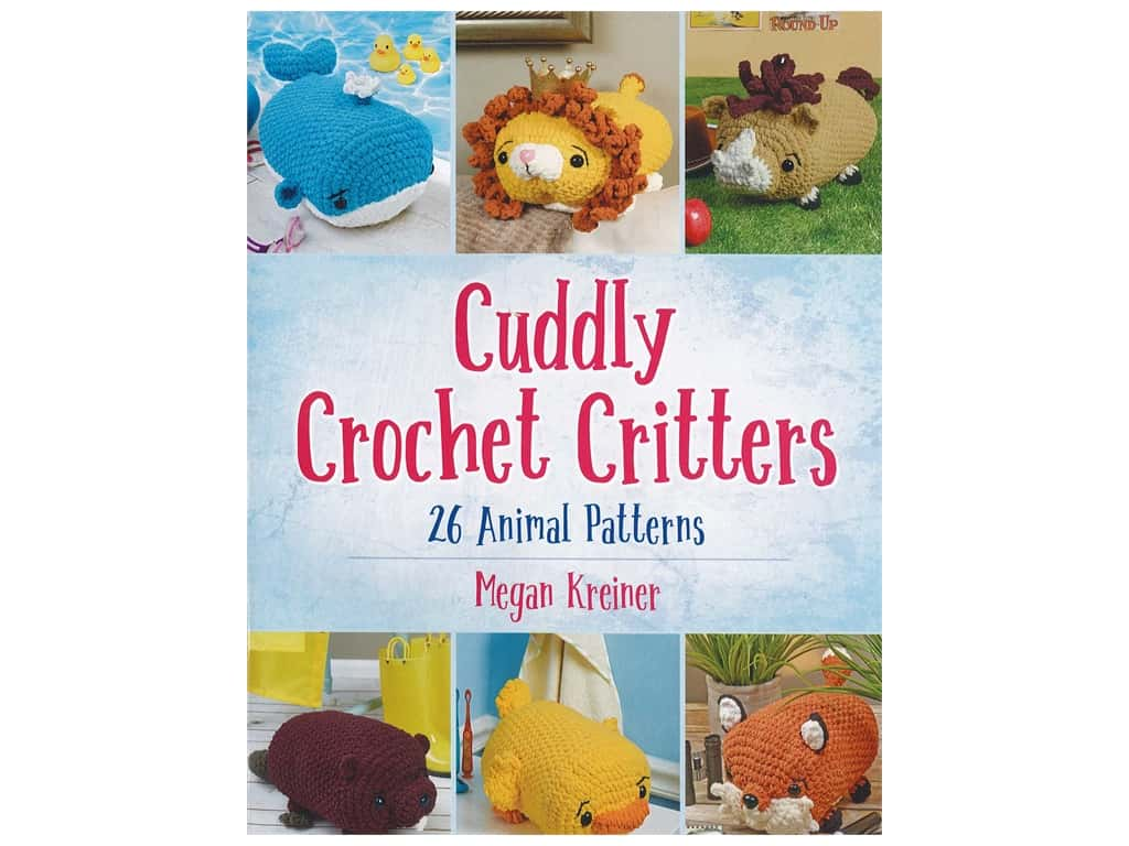 Dover Publications Cuddly Crochet Critters Book