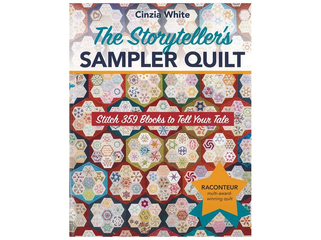 C&T Publishing The Storyteller's Sampler Quilt Book