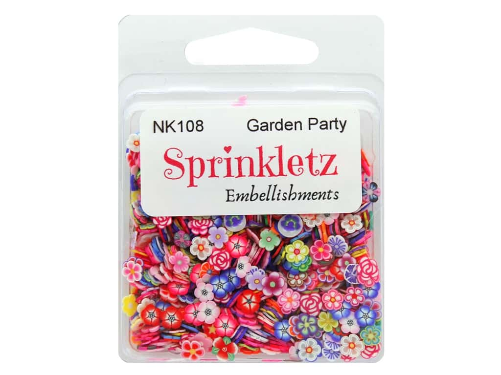 Buttons Galore Sprinkletz Embellishments Garden Party