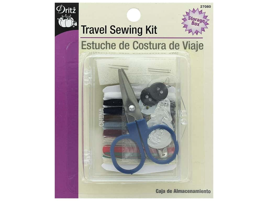 Dritz Travel Sewing Kit with Case