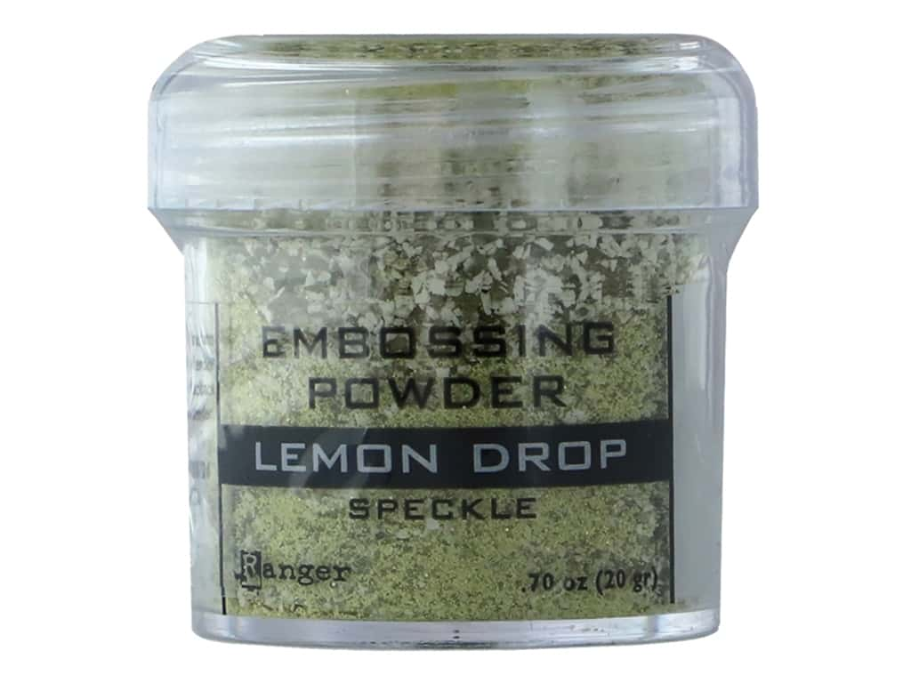 Ranger Embossing Powder .70 oz Speckle Lemon Drop