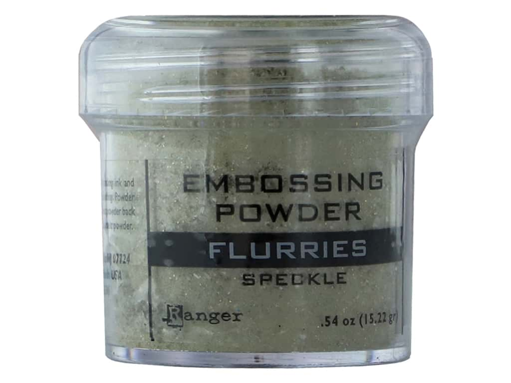 Ranger Embossing Powder .54 oz Speckle Flurries