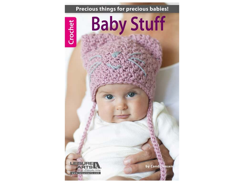 Leisure Arts Baby Stuff Crochet Book