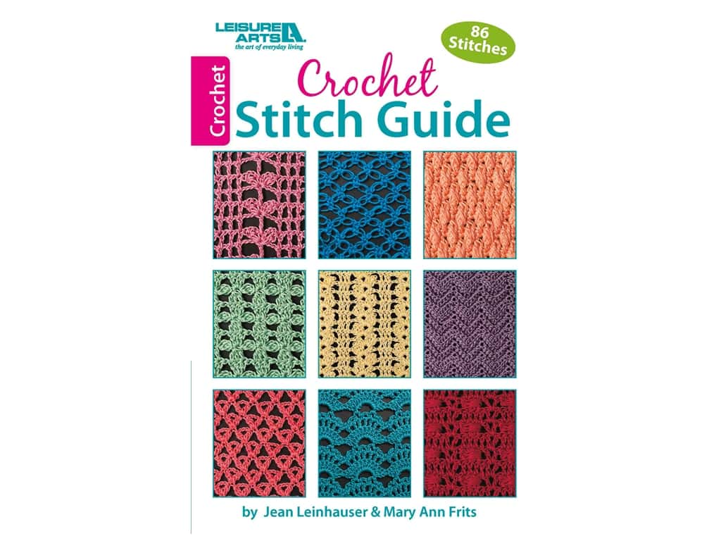 Crochet Stitch Guide Book