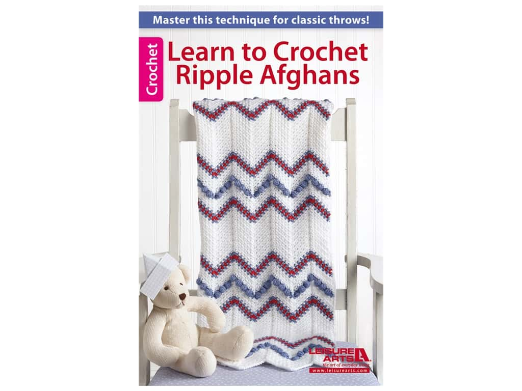 Learn to Crochet Ripple Afghans Book