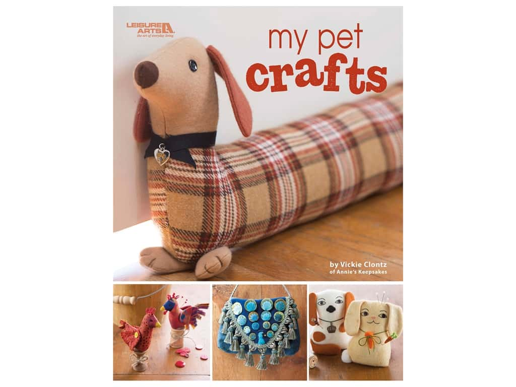 Leisure Arts My Pet Crafts Book