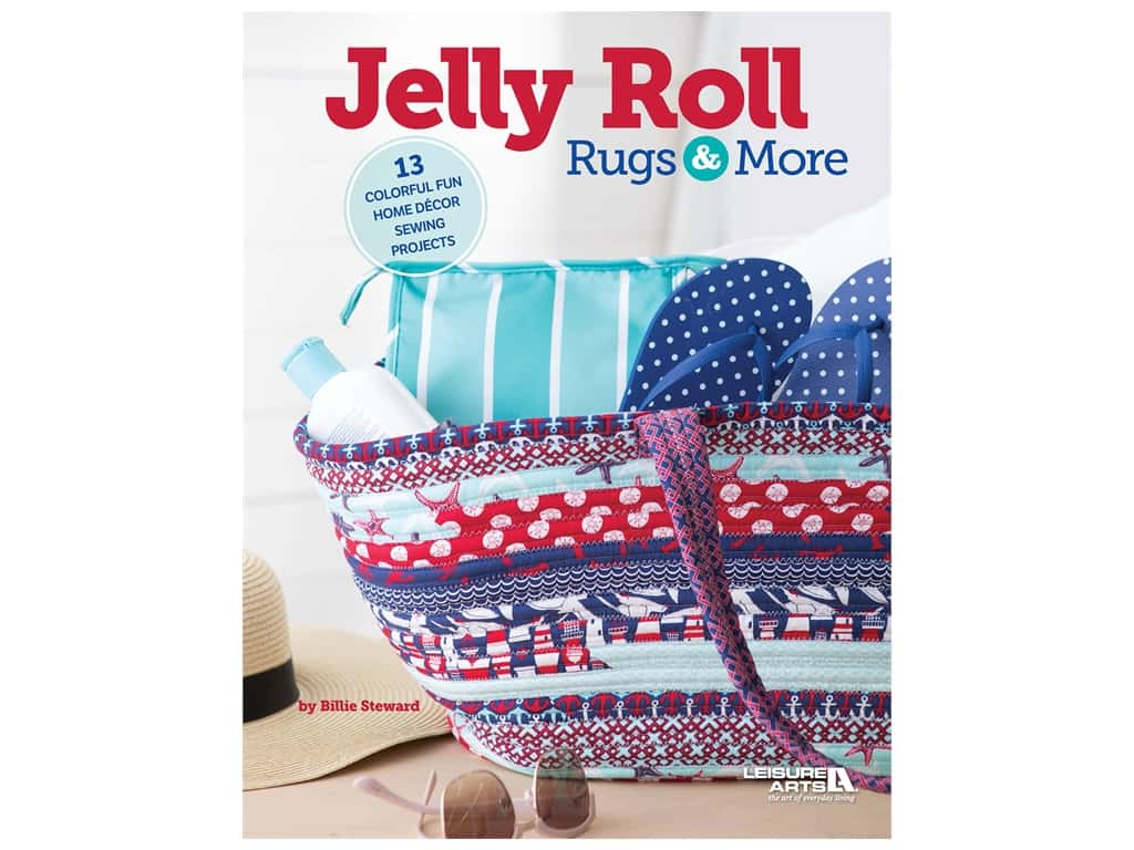 Leisure Arts Jelly Roll Rugs & More Book