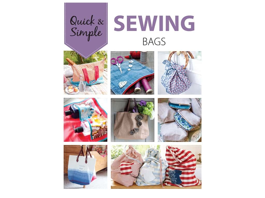 Leisure Arts Quick & Simple Sewing Bags Book