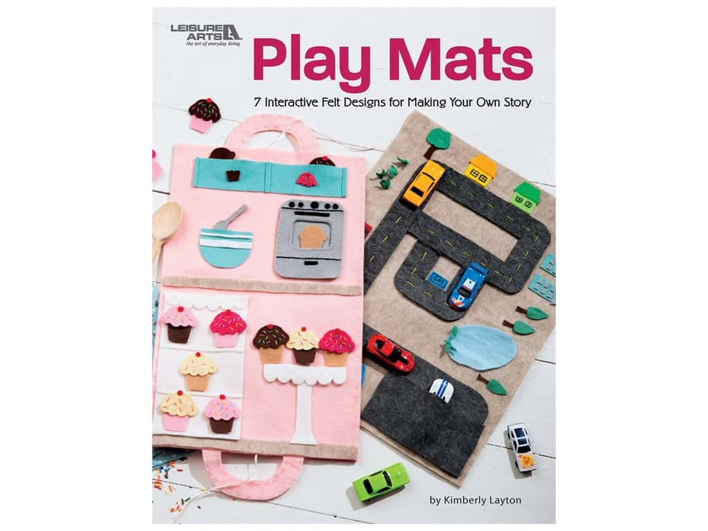 Leisure Arts Play Mats Book