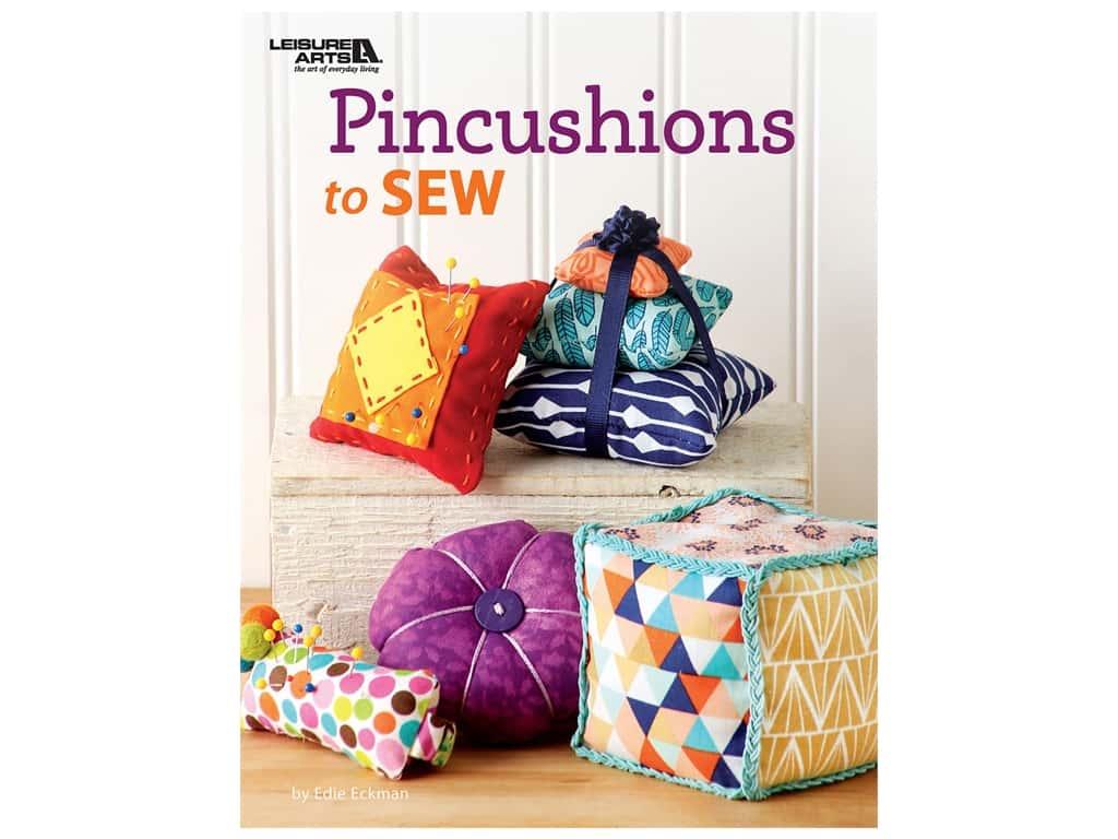 Leisure Arts Pincushions To Sew Book