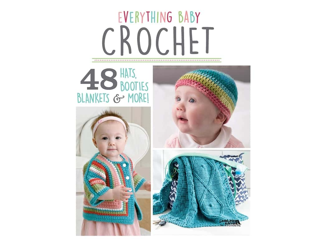 Everything Baby Crochet Book