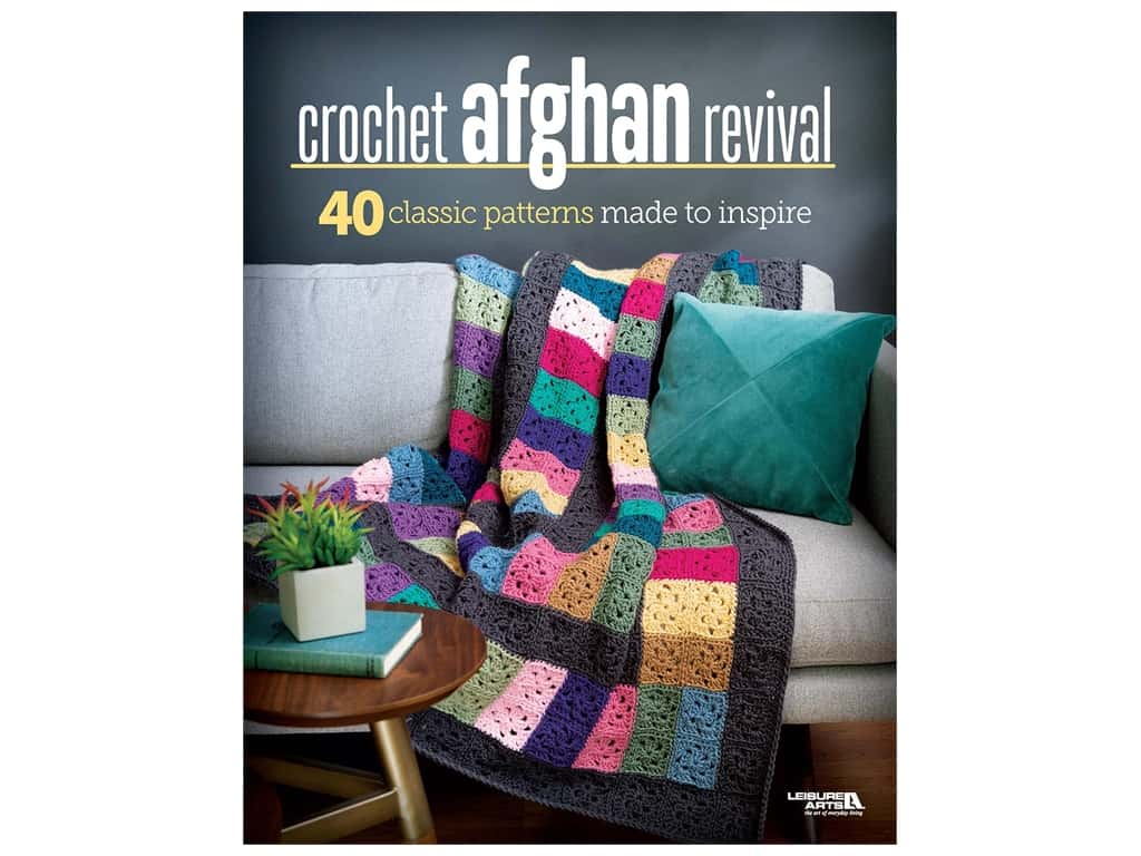 Crochet Afghan Revival Book