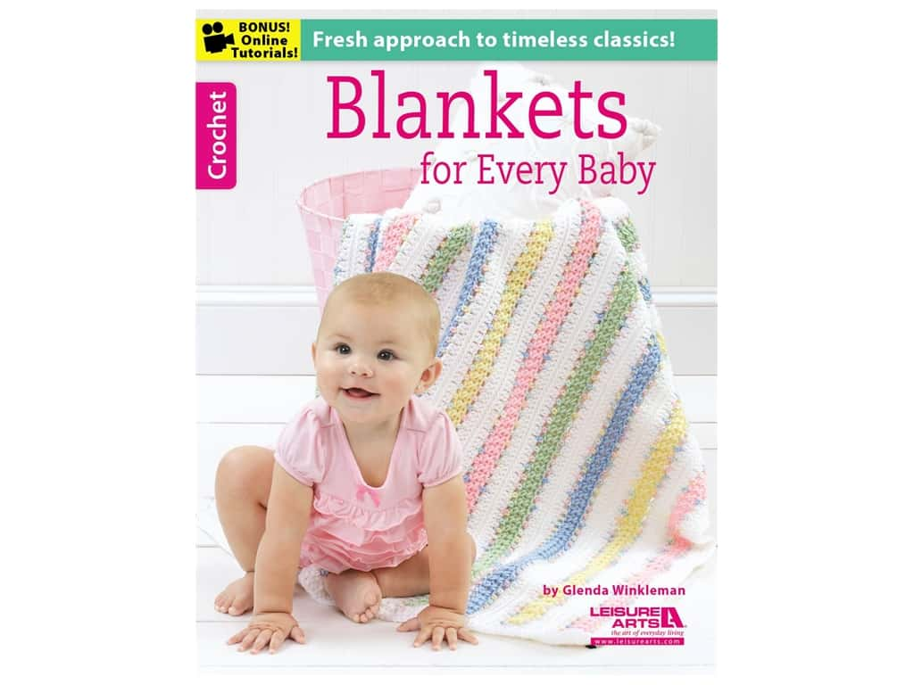 Leisure Arts Blankets For Every Baby Book