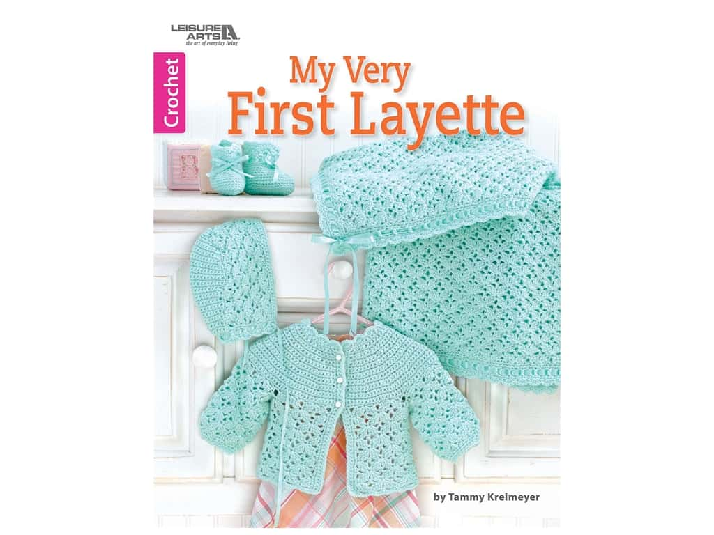 My Very First Layette Crochet Book