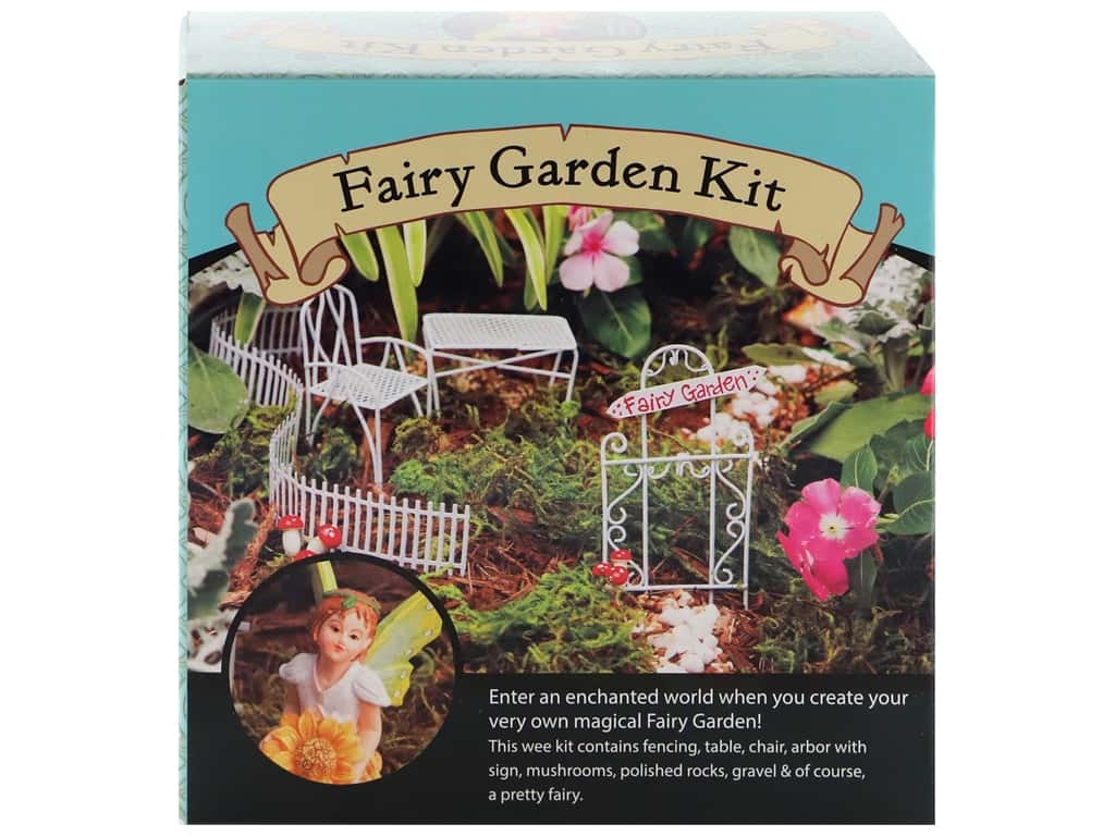 Leisure Arts Kit Fairy Garden