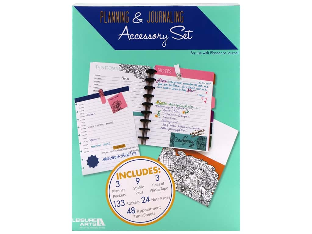 Leisure Arts Planning & Journaling Accessory Set