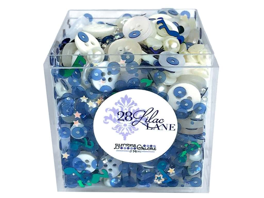 Buttons Galore 28 Lilac Lane Shaker Mix Sweet Melody