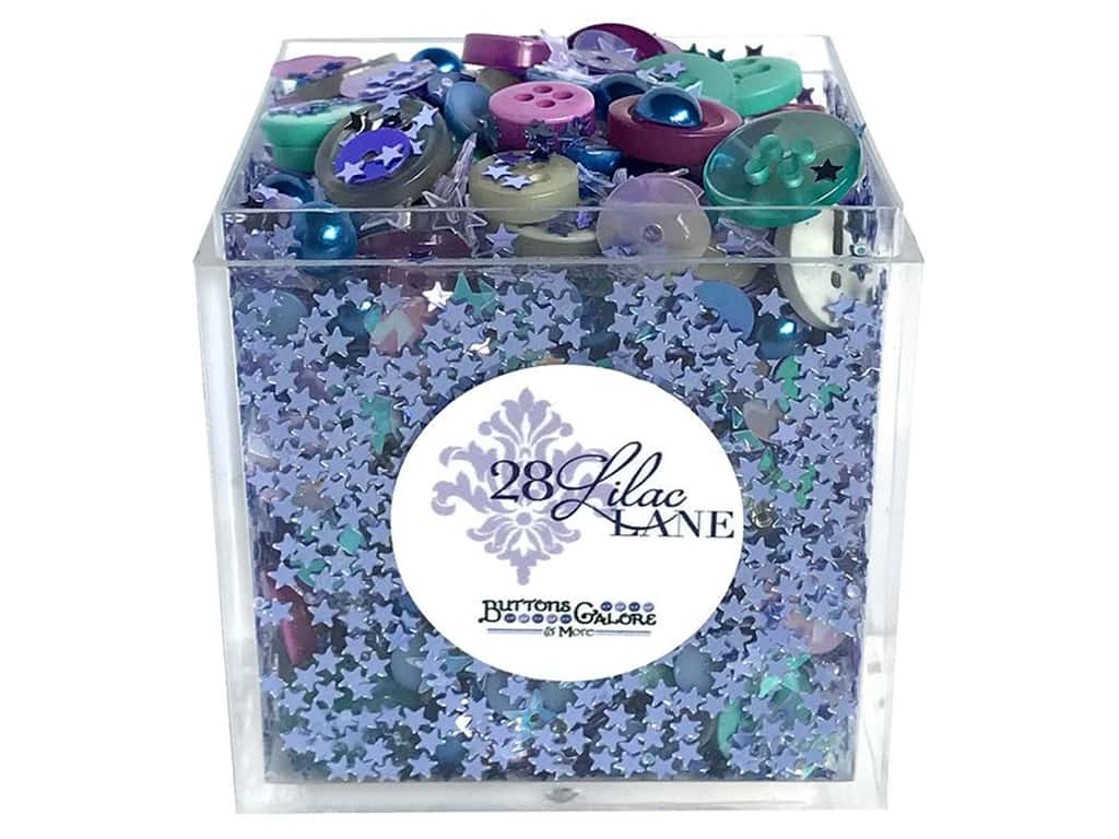 Buttons Galore 28 Lilac Lane Shaker Mix Midwinter Night