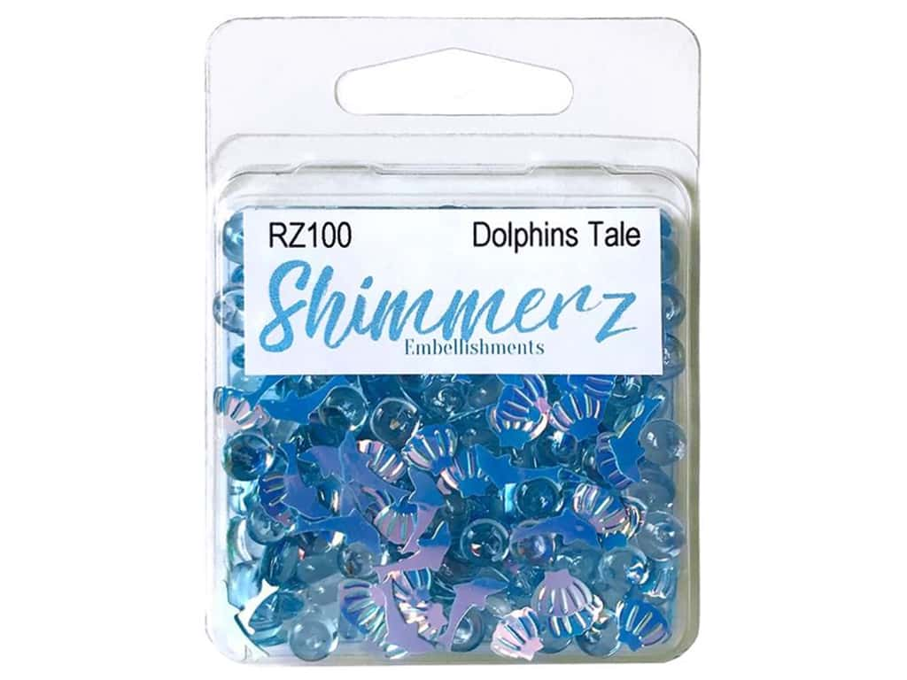 Buttons Galore Shimmerz - Dolphin's Tale