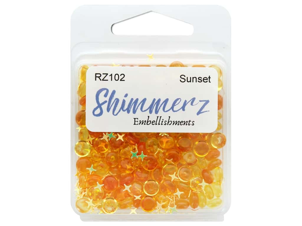 Buttons Galore Shimmerz - Sunset