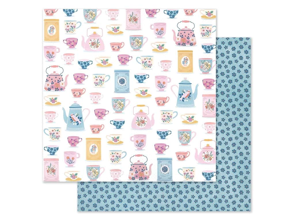 American Crafts Dear Lizzy 12 x 12 in. Paper She's Magic Just Smile (25 pieces)