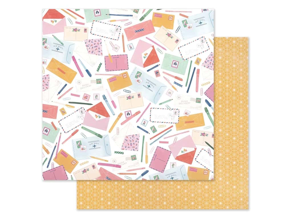 American Crafts Dear Lizzy 12 x 12 in. Paper She's Magic Sincerely Yours (25 pieces)