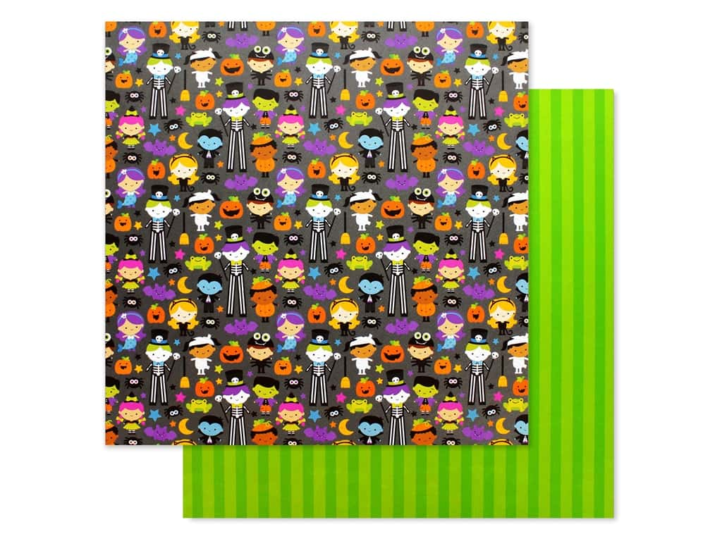 Doodlebug 12 x 12 in. Paper Candy Carnival Costume Contest (25 pieces)