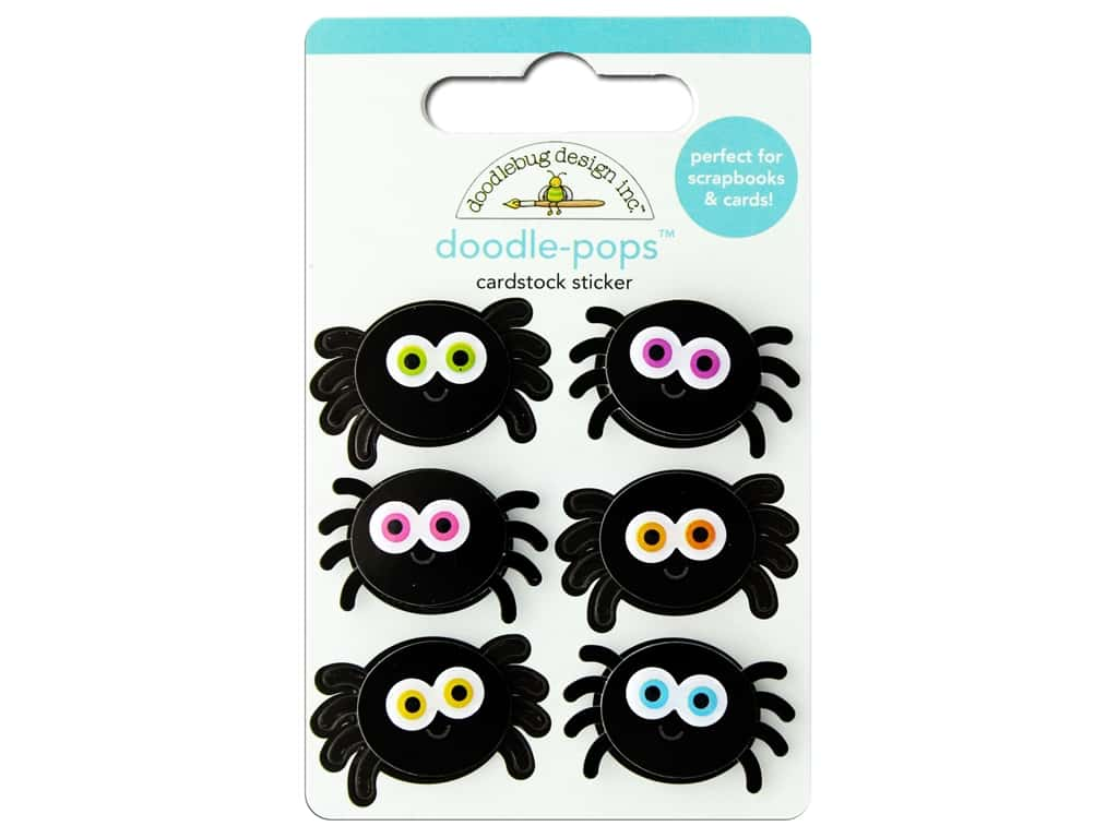 Doodlebug Doodle Pops Candy Carnival Silly Spiders