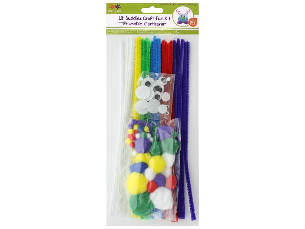 Multicraft Krafty Kids Lil' Buddies Craft Fun Kit Primary