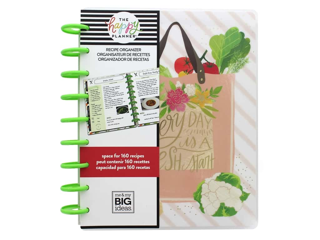 Me&My Big Ideas Happy Planner Classic Recipe Foodie