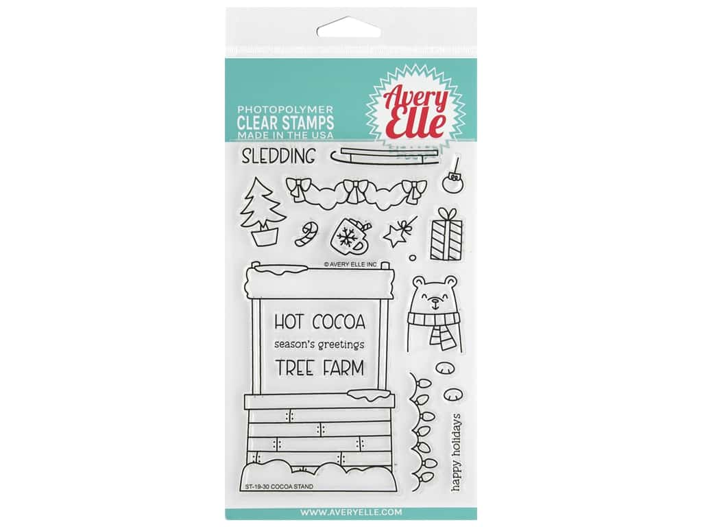 Avery Elle Clear Stamp Cocoa Stand