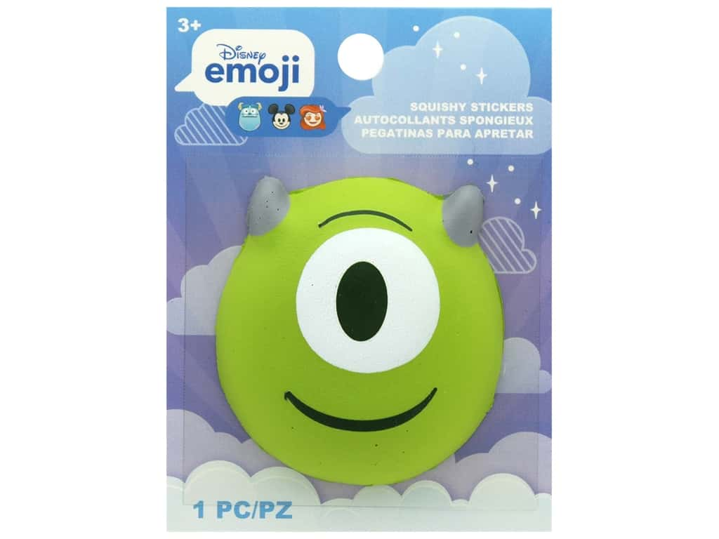 Disney Emoji Squishy Sticker Mike