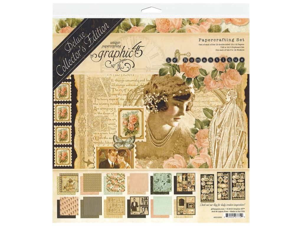 Graphic 45 Deluxe Collectors Edition Le Romantique
