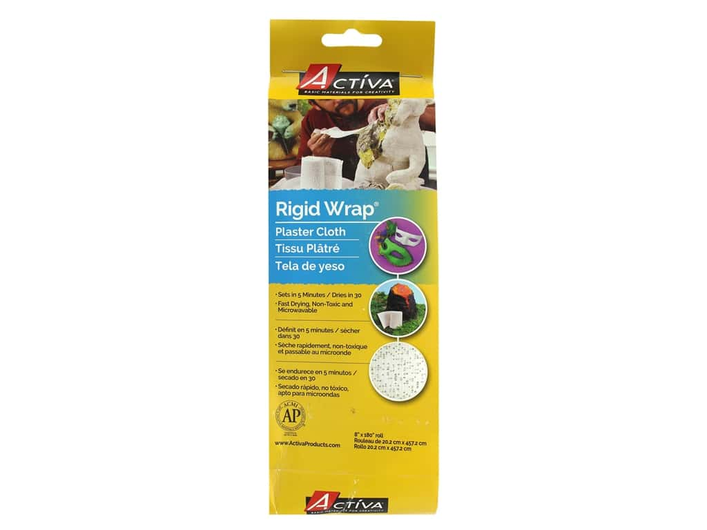 Activa Rigid Wrap Plaster Cloth 8 x 180 in.