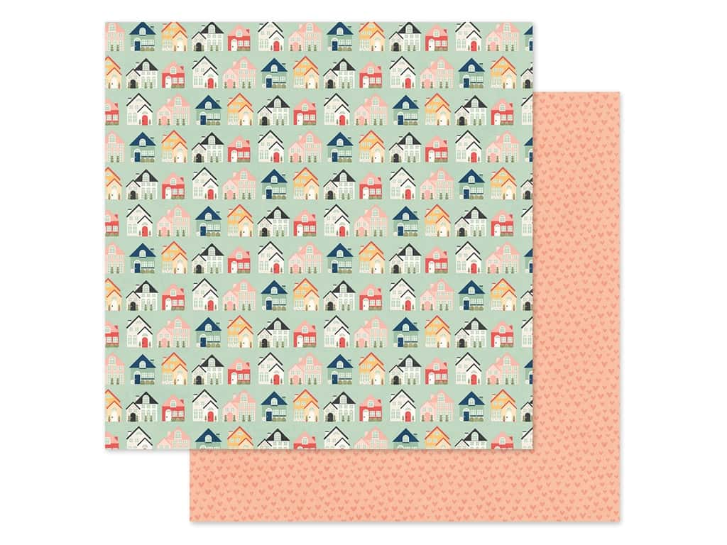 Simple Stories Collection So Happy Together Paper 12 in. x 12 in. Welcome Home (25 pieces)