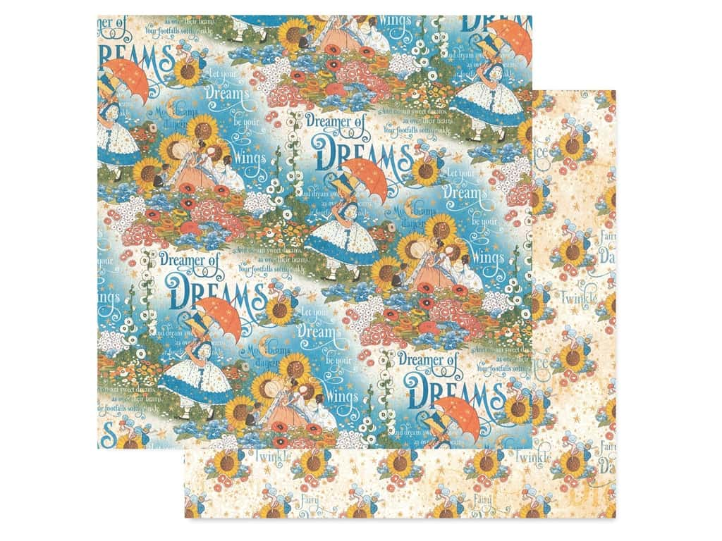 Graphic 45 Collection Dreamland Paper 12 in. x 12 in. Enchanted Garden (25 pieces)