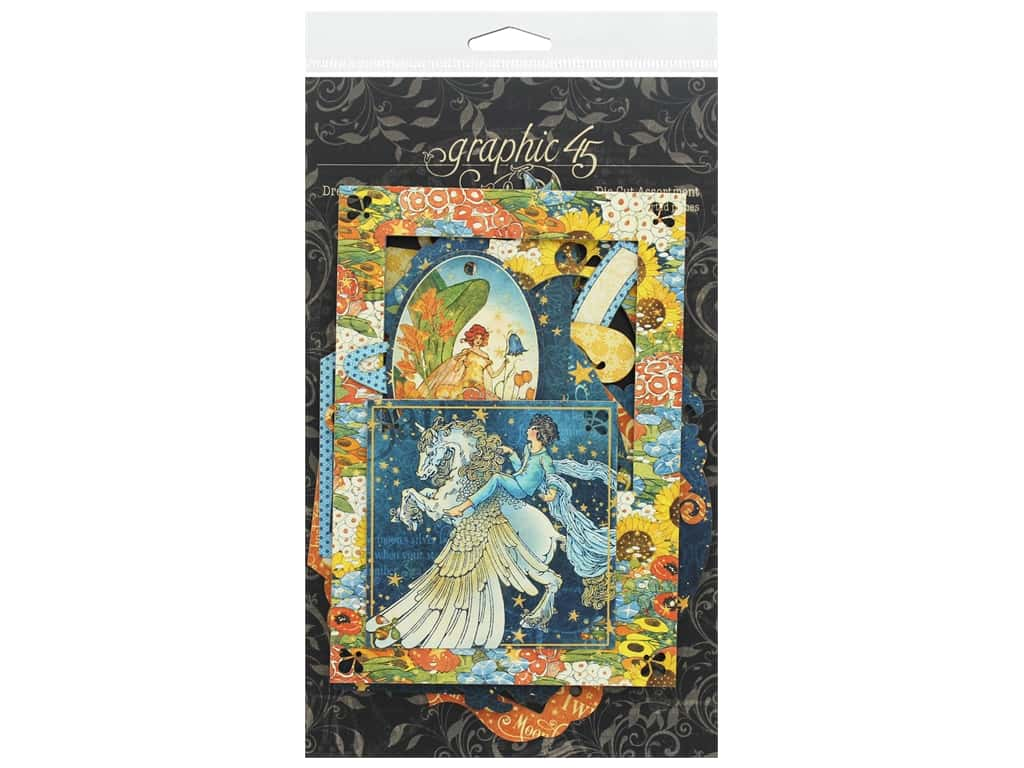 Graphic 45 Collection Dreamland Die Cut Assorted