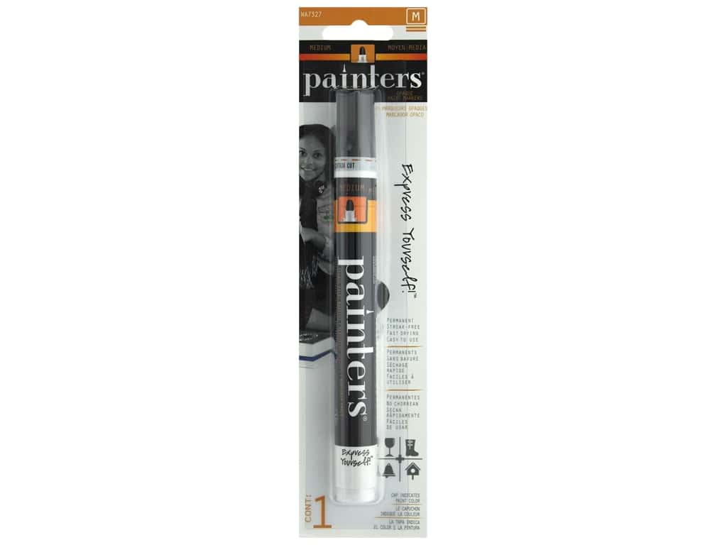 Elmer's Painters Paint Markers Opaque Medium Black