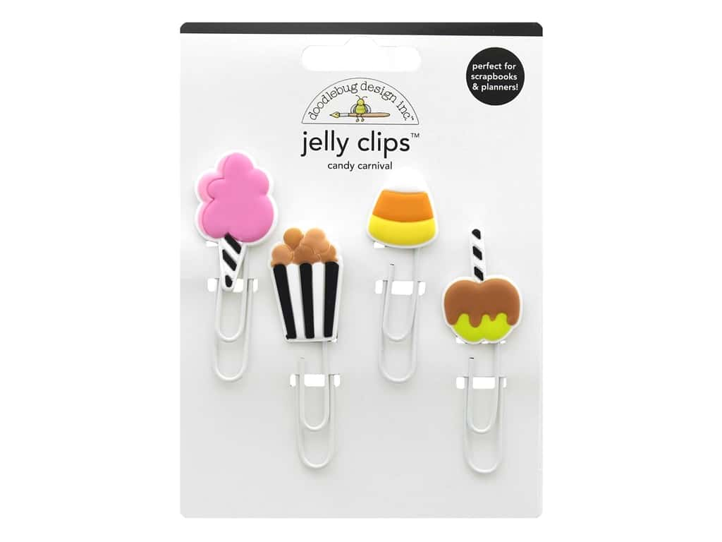 Doodlebug Collection Candy Carnival Jelly Clips