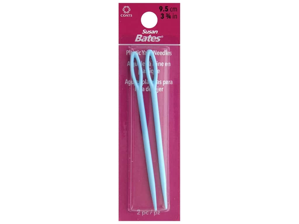 Susan Bates Luxite Yarn Needle 3 3/4 in. Bulky 2 pc.