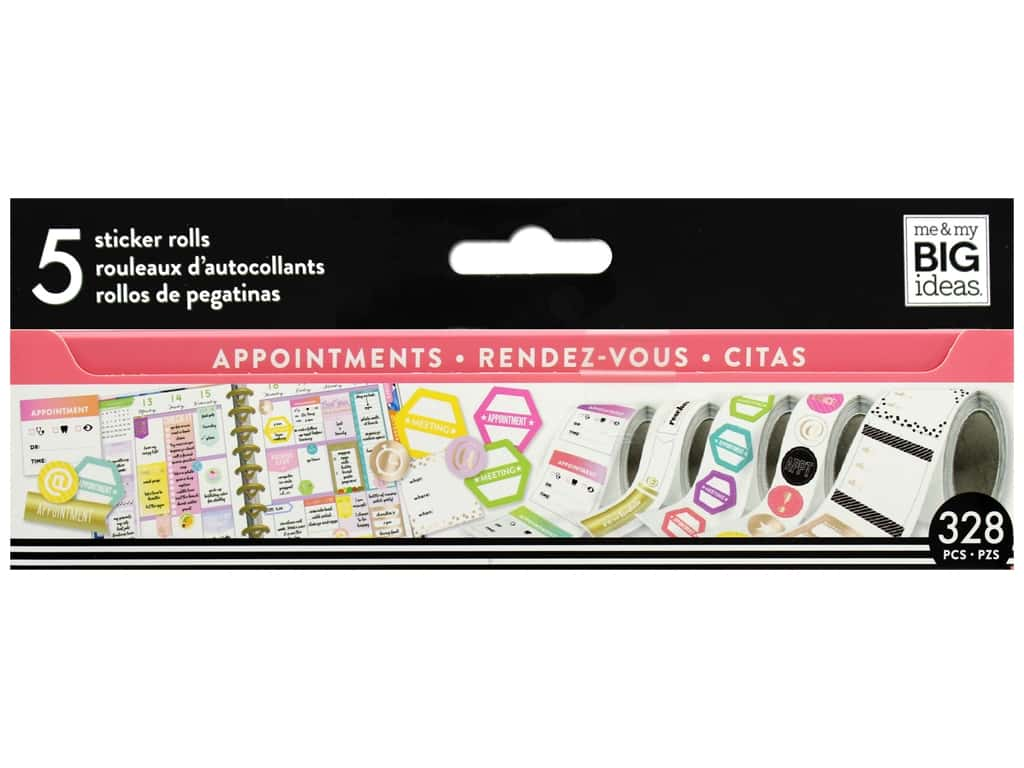 Me&My Big Ideas Happy Planner Sticker Roll Appointments