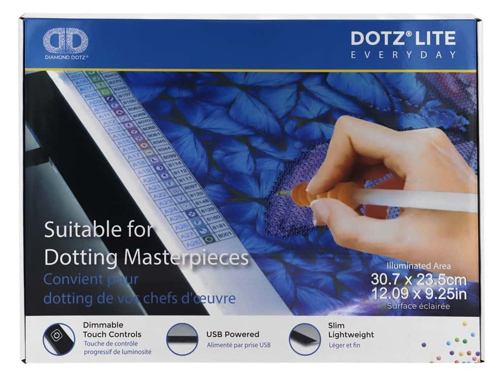 Diamond Dotz Dotz Lite Lightpad Light Box