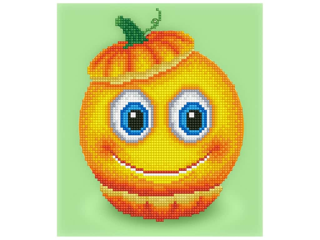 Diamond Dotz Facet Art Kit Beginner Sweet Pumpkin