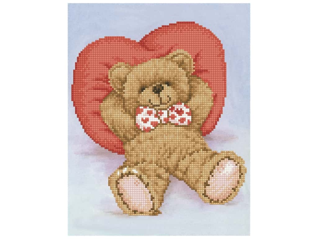 Diamond Dotz Facet Art Kit Intermediate Relax-A-Bear
