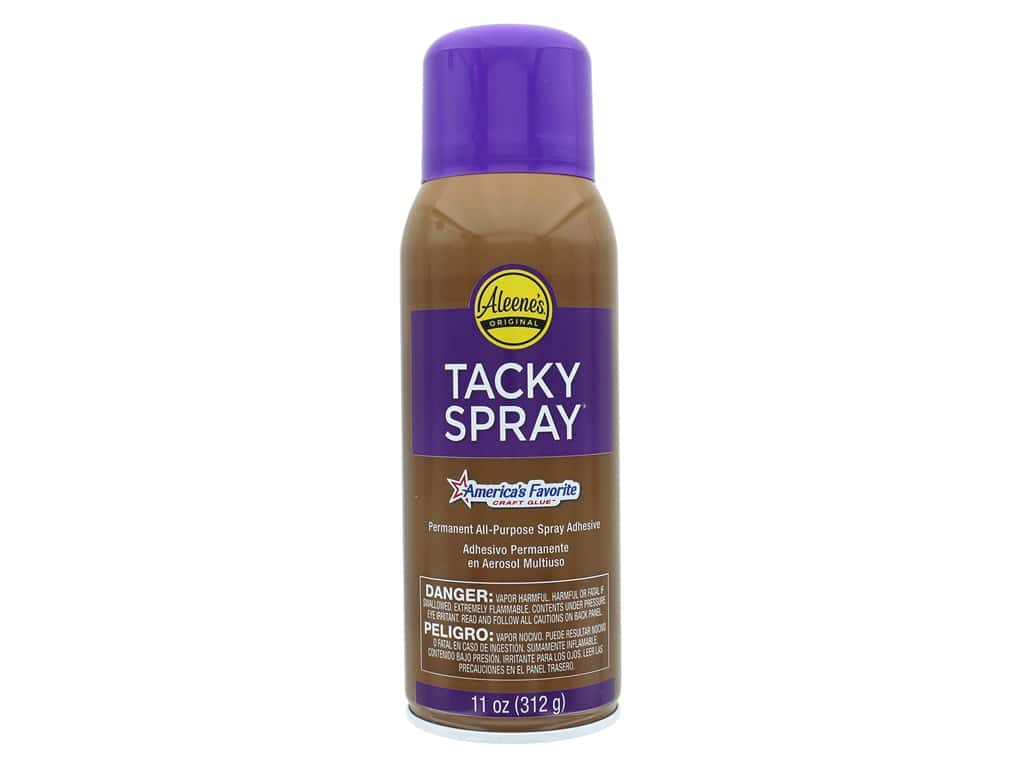Aleene's Crystal Clear Acid Free Tacky Spray Glue 11 oz.